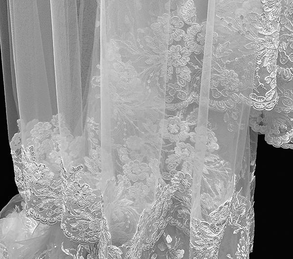 customized veil, photo 1