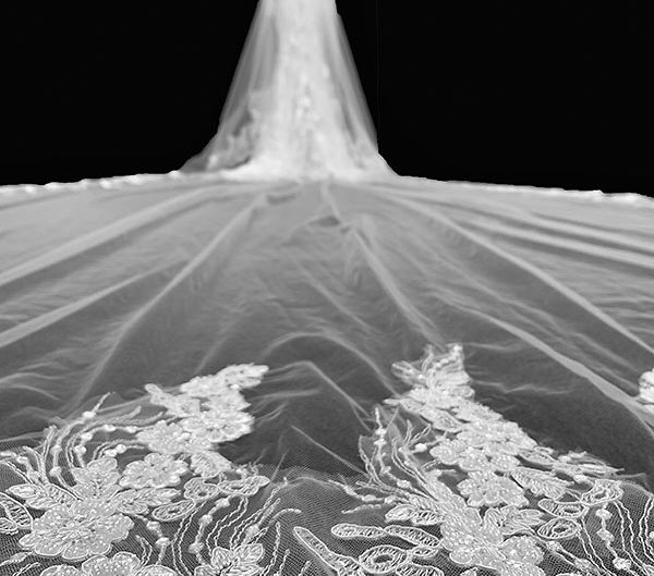customized veil, photo 2