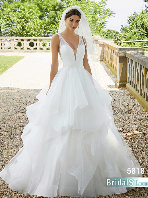 Morilee Blu 5818 Stella bridal dress
