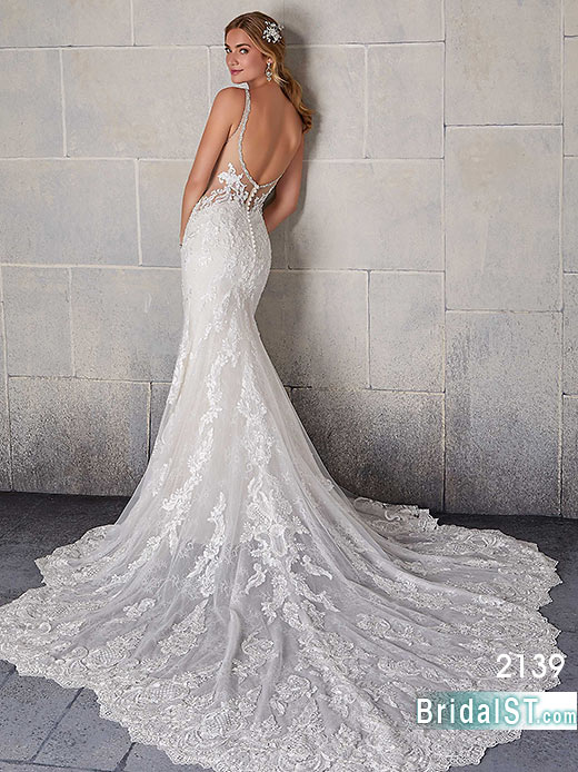 Morilee Blu 2139 Sofia Bridal dress
